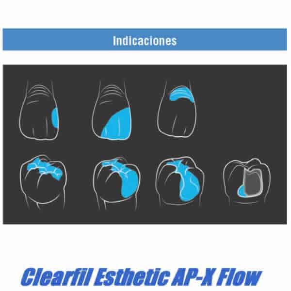 INDICACIONES CLEARFIL AP-X FLOW MEXICO