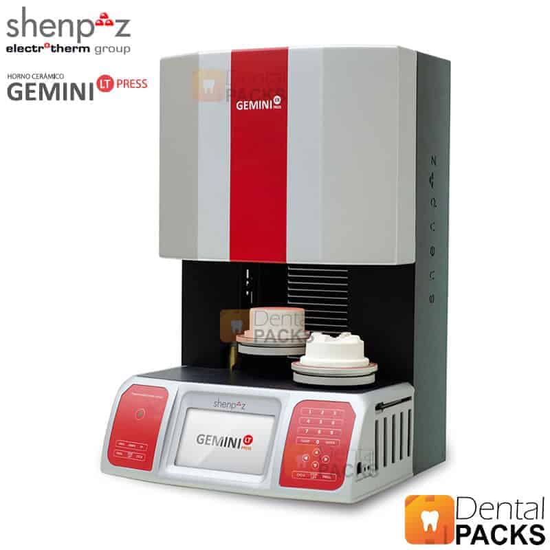 GEMINI LT PRESS Horno de Prensado SHENPAZ HORNO PORCELANA LABORATORIO DENTAL