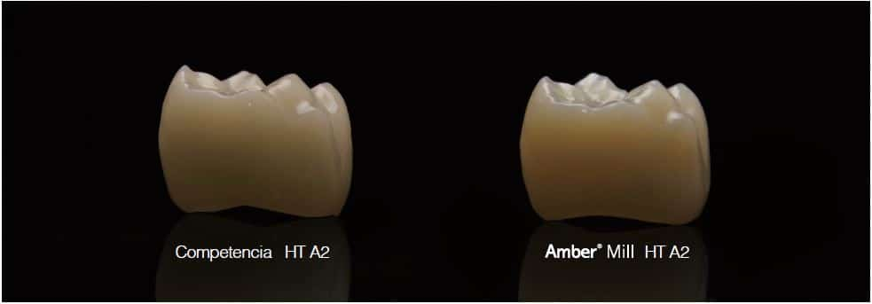 AMBER MILL HASS COMPARATIVA