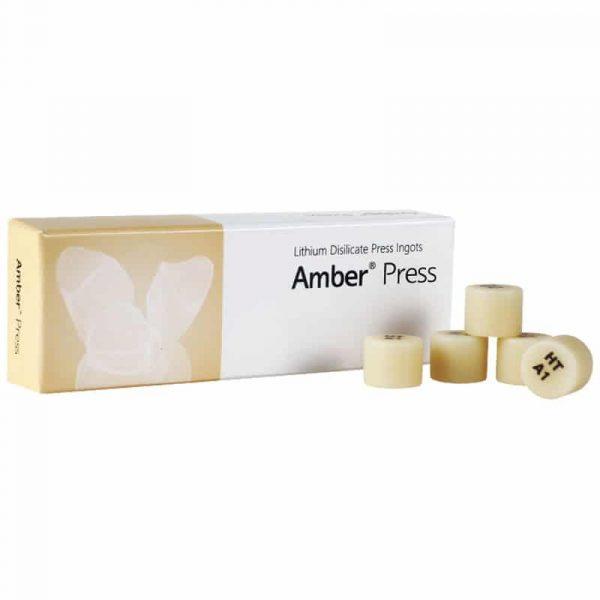 AMBER PRESS HASS DISILICATO DE LITIO R10 5 LINGOTES